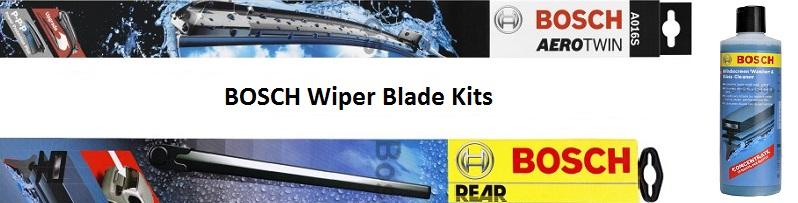 Windscreen Wiper Blade Kits