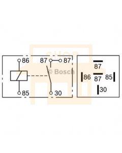 Bosch 0332019150 Mini Relay - Single