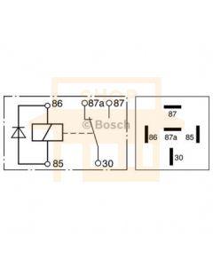 Bosch 0332209204 Relay - Single