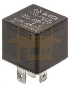 Bosch 0332209206 24V 20/10A Change Over Mini Relay