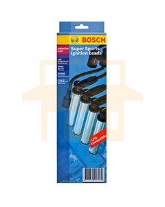 Bosch F005X03769 Super Sports Ignition Lead Set B4076i - Set of 4